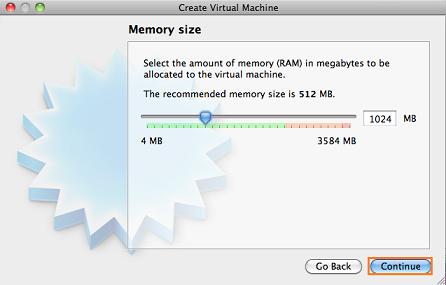 仮想メモリを設定