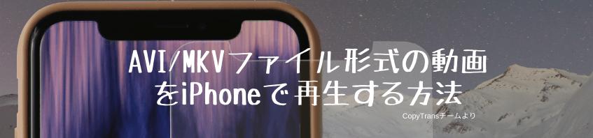 動画をiPhoneで再生
