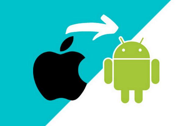 iPhoneからAndroidにデータを移行する方法