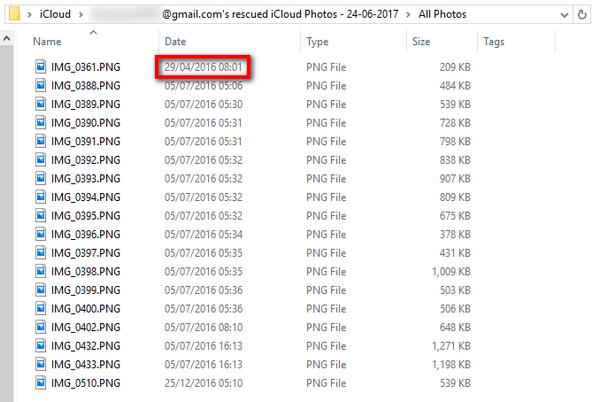 iCloudから完全削除した写真を復元