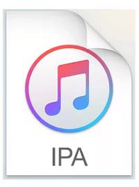 IPAファイルのアイコン