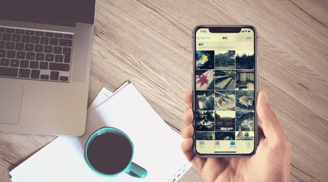 iPhoneからパソコンに写真と動画を取り込めない