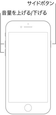 iPhone 8またはiPhone SEを強制終了する方法